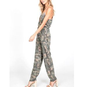 7th Ray Pants & Jumpsuits - Camo Printed Jumpsuit size Med